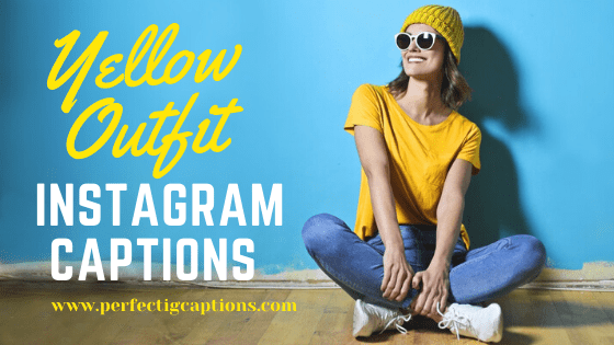Yellow-Outfit-Instagram-captions