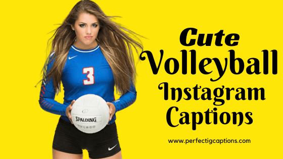 Cute-Volleyball-Instagram-Captions